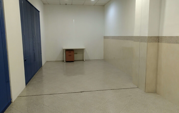 Interior del local comercial ubicado en el CC Prado Overa