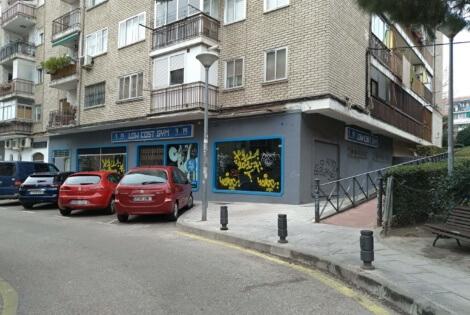 Otra vista interior del local comercial en alquiler en Alcorcón en la Calle Polvoranca
