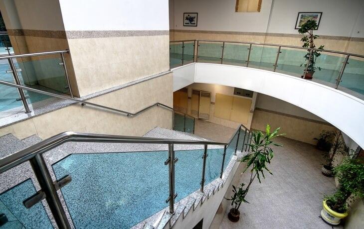Interior del cento comercial